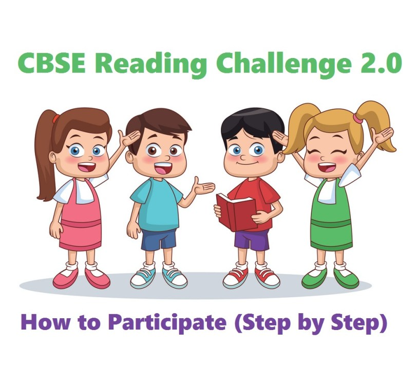 How to Participate in CBSE Reading Challenge 2.0 in 2021 (Step by Step Information)