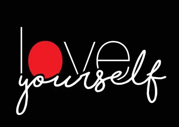 love your self black