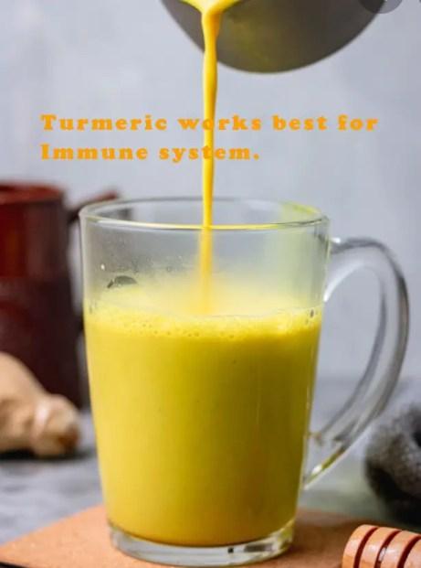 Turmaric powders haldar immunity increase in 2021