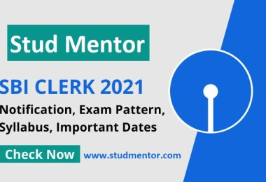 SBI New Recruitment of Clerk Jobs, Syllabus and Important Dates 2021