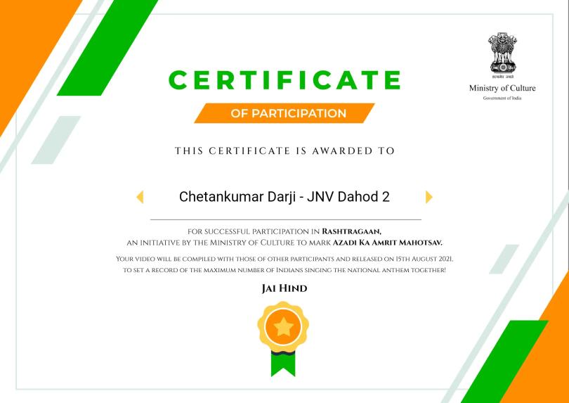 Chetankumar Darji - JNV Dahod 2