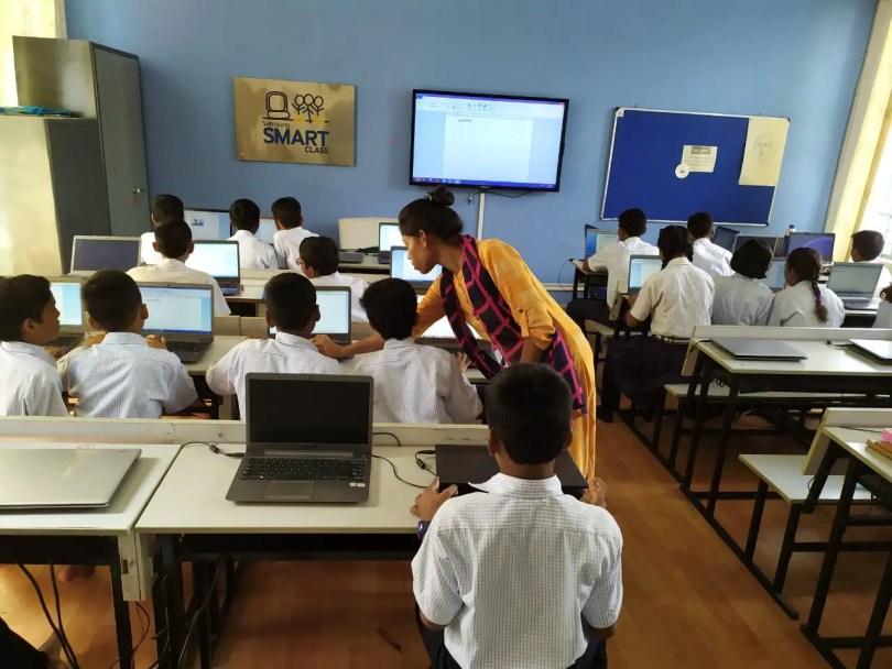 Navodaya admission Smart Class-Facility 2022