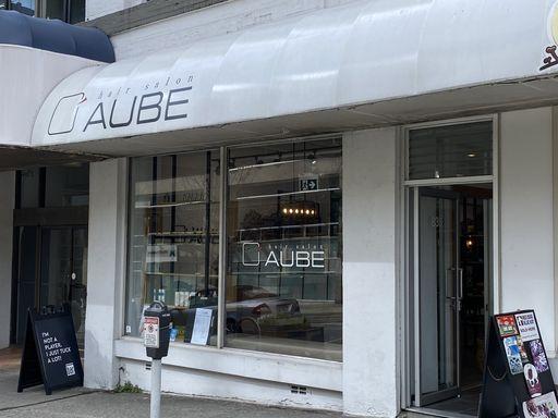 バンクーバーの日系美容院AUBE