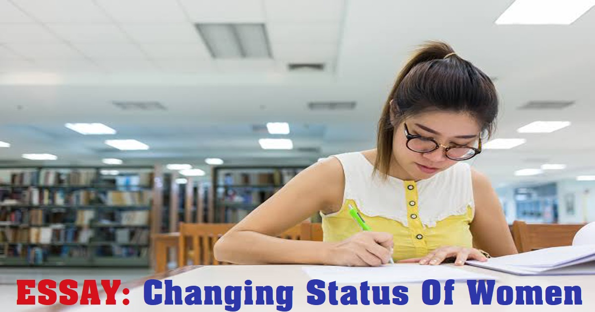 Changing Status Of Women