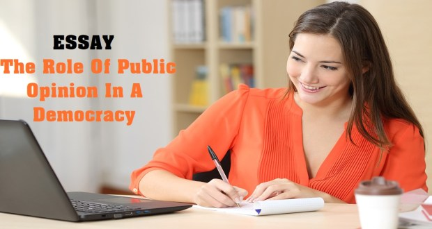 The Role Of Public Opinion In A Democracy
