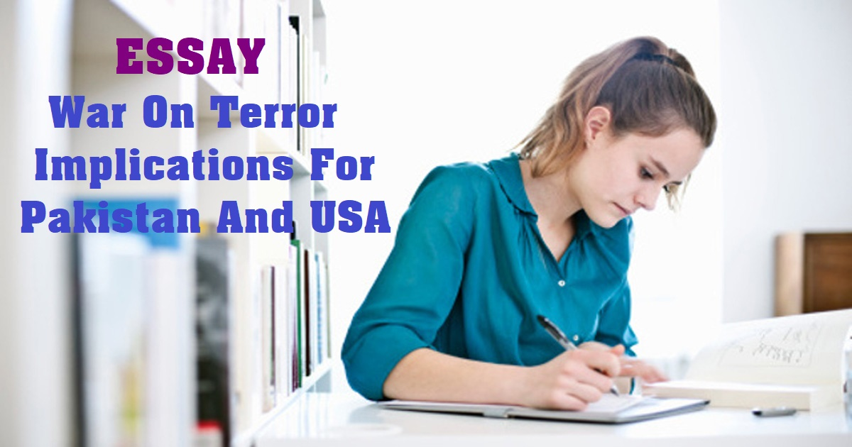 War On Terror Implications For Pakistan And USA