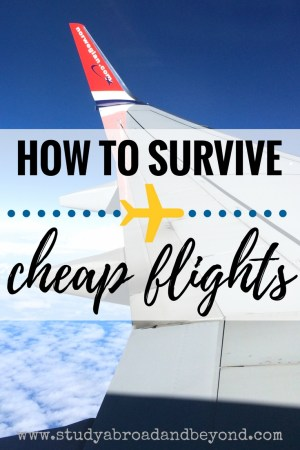 Booked some EasyJet? Ready to go on Wizz? Rocking it with Ryanair? Read these tips to prepare for your trip with a low-cost carrier! | Study Abroad and Beyond