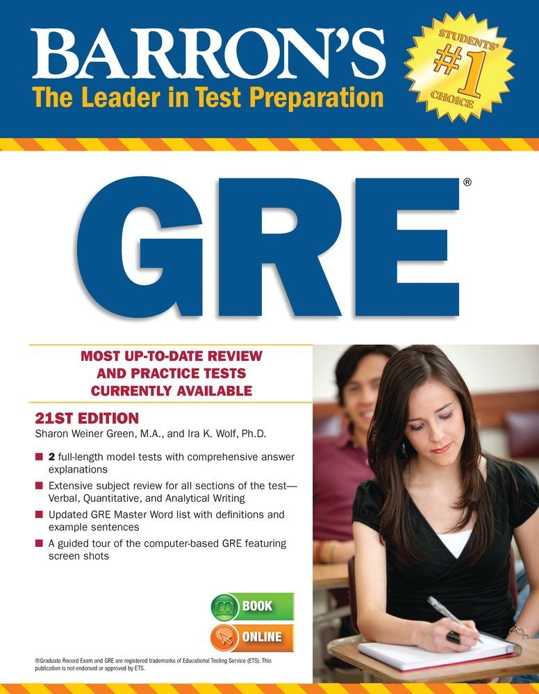 Gre Study Book >> Barrons New Gre 19th Pdf Download Study Abroad Life