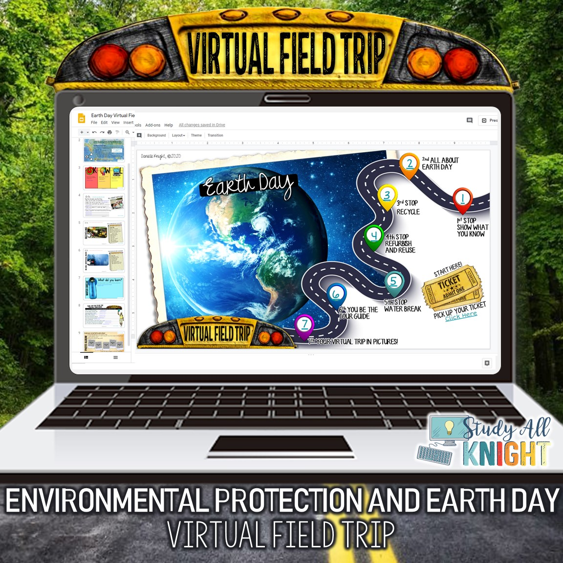 Virtual Field Trip Earth Day Environmental Protection
