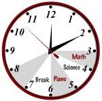 Time Management Tips Clock