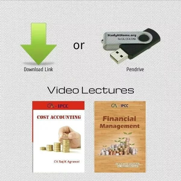 Paper 3 - Cost Accounting & Financial Management (CA IPCC Group I) by CA Raj K Agrawal