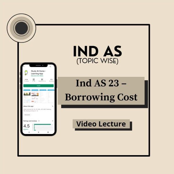 Ind AS 23 - Borrowing Cost