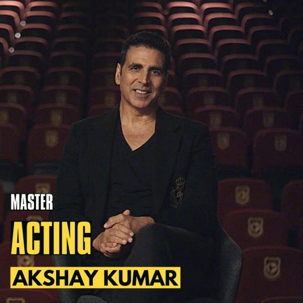 Master Acting Certificate Course by Akshay Kumar