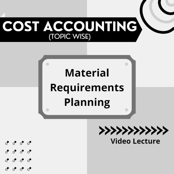 Material Requirements Planning