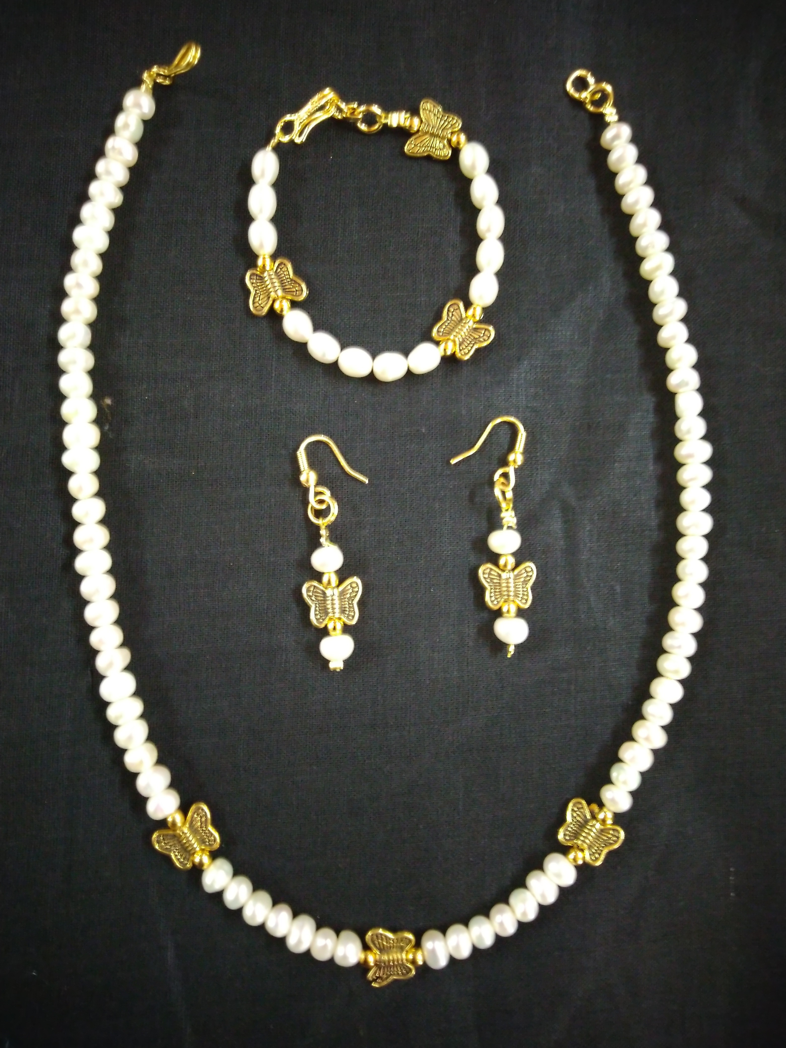 Fresh Water Pearl Mala Set Fashion Designing Technology Institute In Chennai No 1 College