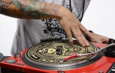 Hip-hop deejay