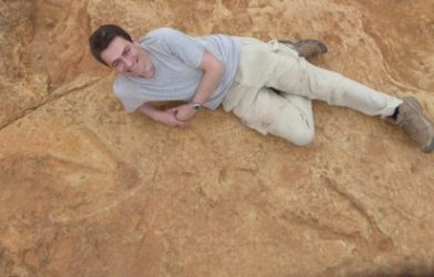 Dinosaur footprints discovered in Lesotho