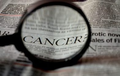 Cancer in newspaper article