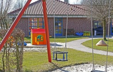 Playground at daycare