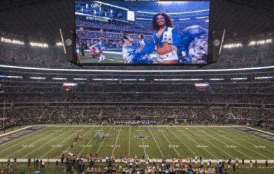 AT&T Stadium in Dallas
