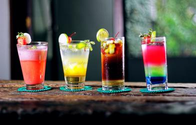 Mixed drinks / cocktails