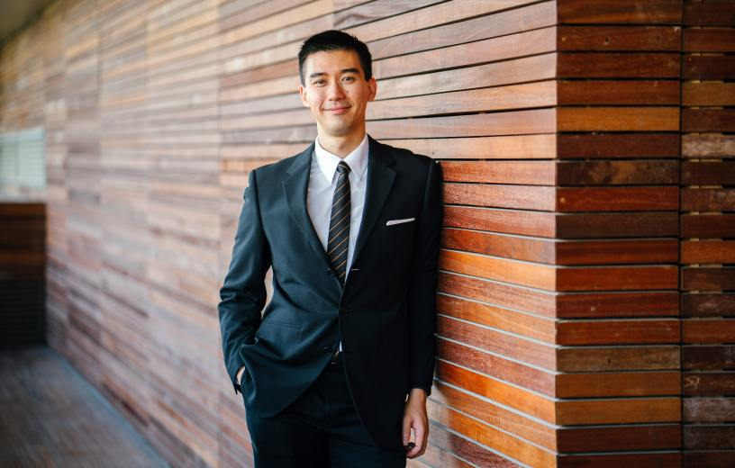 Asian or Asian-American man
