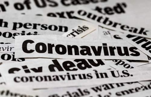 Coronavirus / COVID-19 newspaper clippings