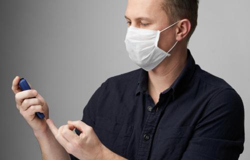Diabetes patient during COVID-19 / coronavirus outbreak