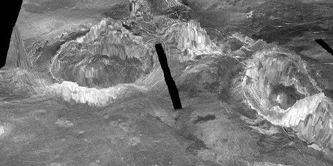 Volcanic activity on Venus