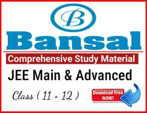 [PDF] DOWNLOAD BANSAL IIT-JEE STUDY MATERIAL MODULE PDF for FREE