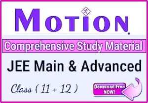Download Motion IIT-JEE Study Material   Motion Modules 2021 PDF