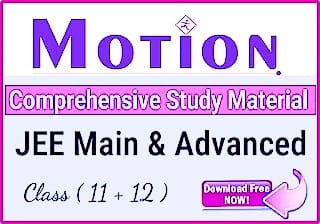 Download Motion IIT-JEE Study Material | Motion Modules 2021 PDF