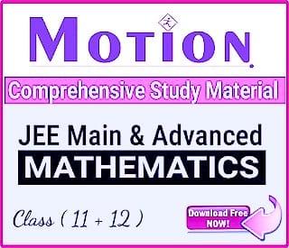 MOTION IIT JEE MODULES: MATHS PDF