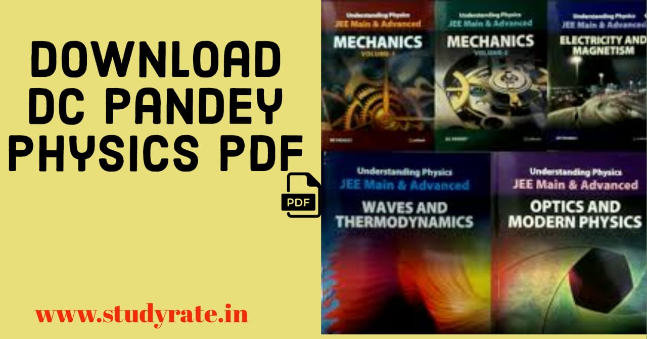You are currently viewing DC Pandey Physics PDF Free Download for JEE Mains & Advanced