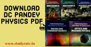 DC Pandey Physics PDF Free Download for JEE Mains & Advanced