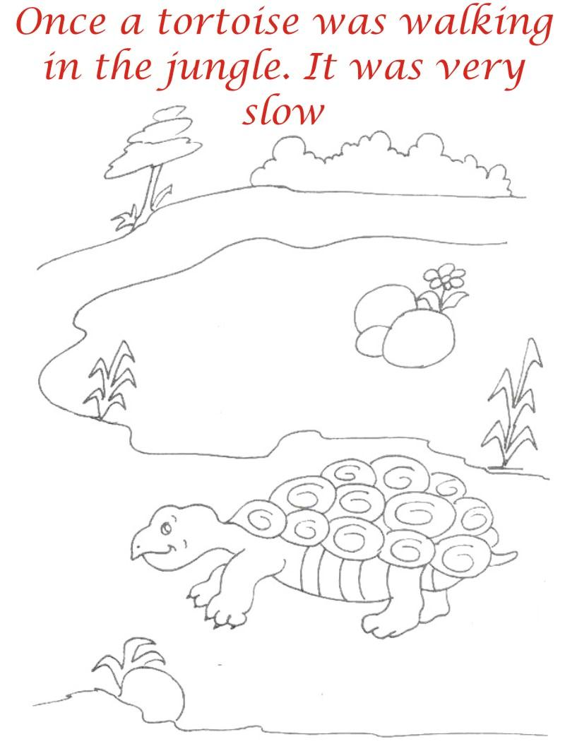 The Racing Story Coloring Pages For Kids1