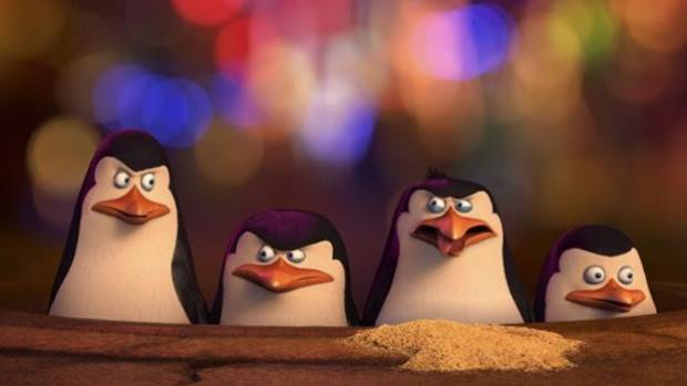 Benedict Cumberbatch is the voice of Classified, head of a pack of wolf spies, in Penguins of Madagascar.