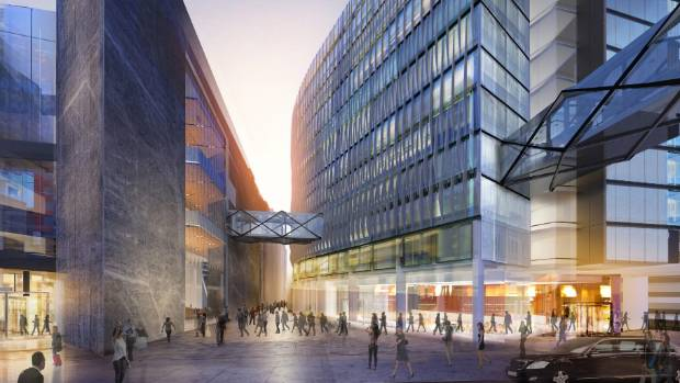 SkyCity drawings of its planned new International Convention Centre and hotel