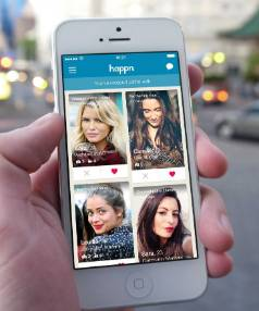 Happn is the latest addition to the app-based dating scene.