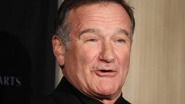 Robin Williams who suffered from Lewy Body Dementia.