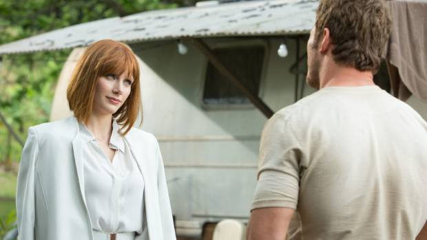 Bryce Dallas Howard and Chris Pratt create characters we don't want to see munched in Jurassic World.