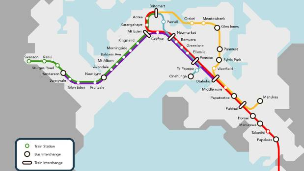 The City Rail LInk will make Britomart a through station and allow a doubling of trains on the Auckland rail network.