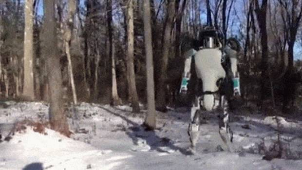 Robot company Boston Dynamics has developed a new version of its humanoid robot, Atlas.