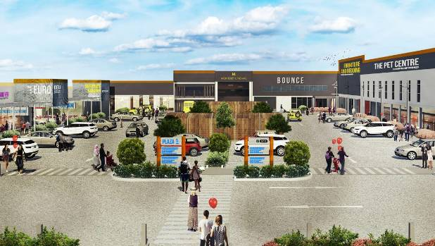 A perspective of what the revamp of the Upper Hutt central shopping area will look like.