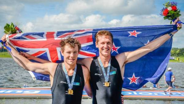 Jack Lopas claims gold at junior world rowing ...