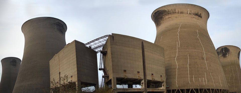 Thorpe Marsh Power Station Cooling Towers