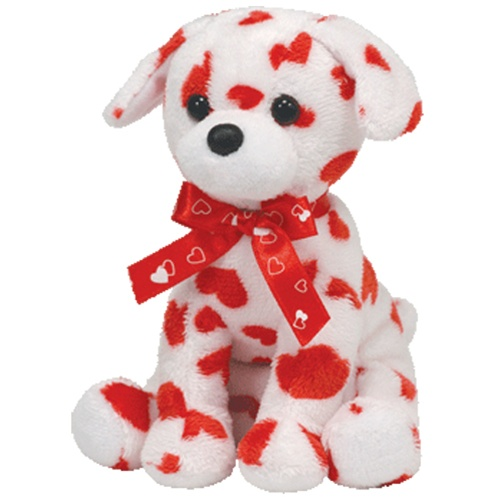 Ty Beanie Babies 8 Lovely Valentines Day Dog