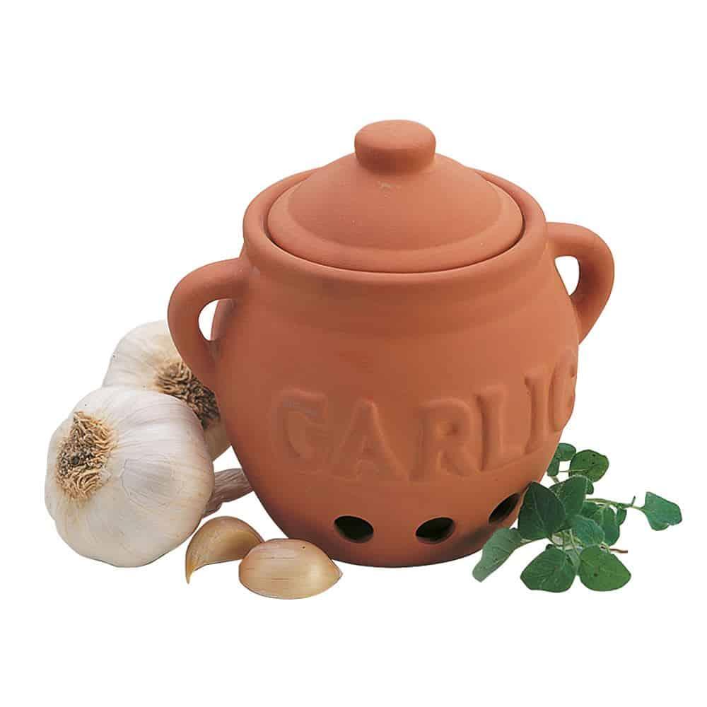 Progressive Terracotta Garlic Keeper Stuff For The Kitchen