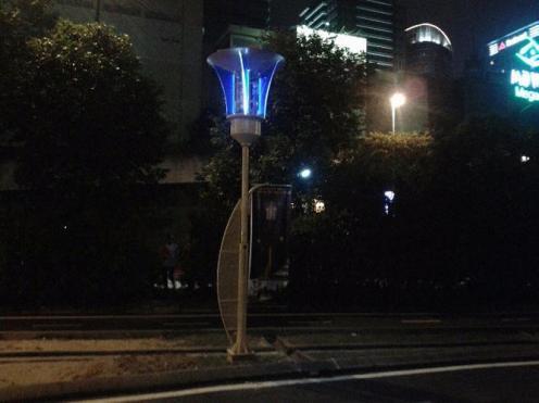 Le lampadaire intelligent