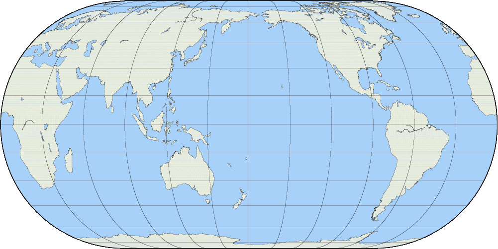 This web app which lets you to draw any shaped line you want and have it matched up to an identical river, highway or coastline somewhere in the world. World Map Latitude Longitude How Does This Change Your Climate
